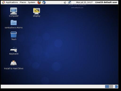 Linux CentOS6のデスクトップ