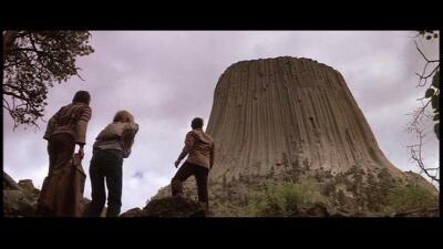 未知との遭遇の「デビルズタワー」