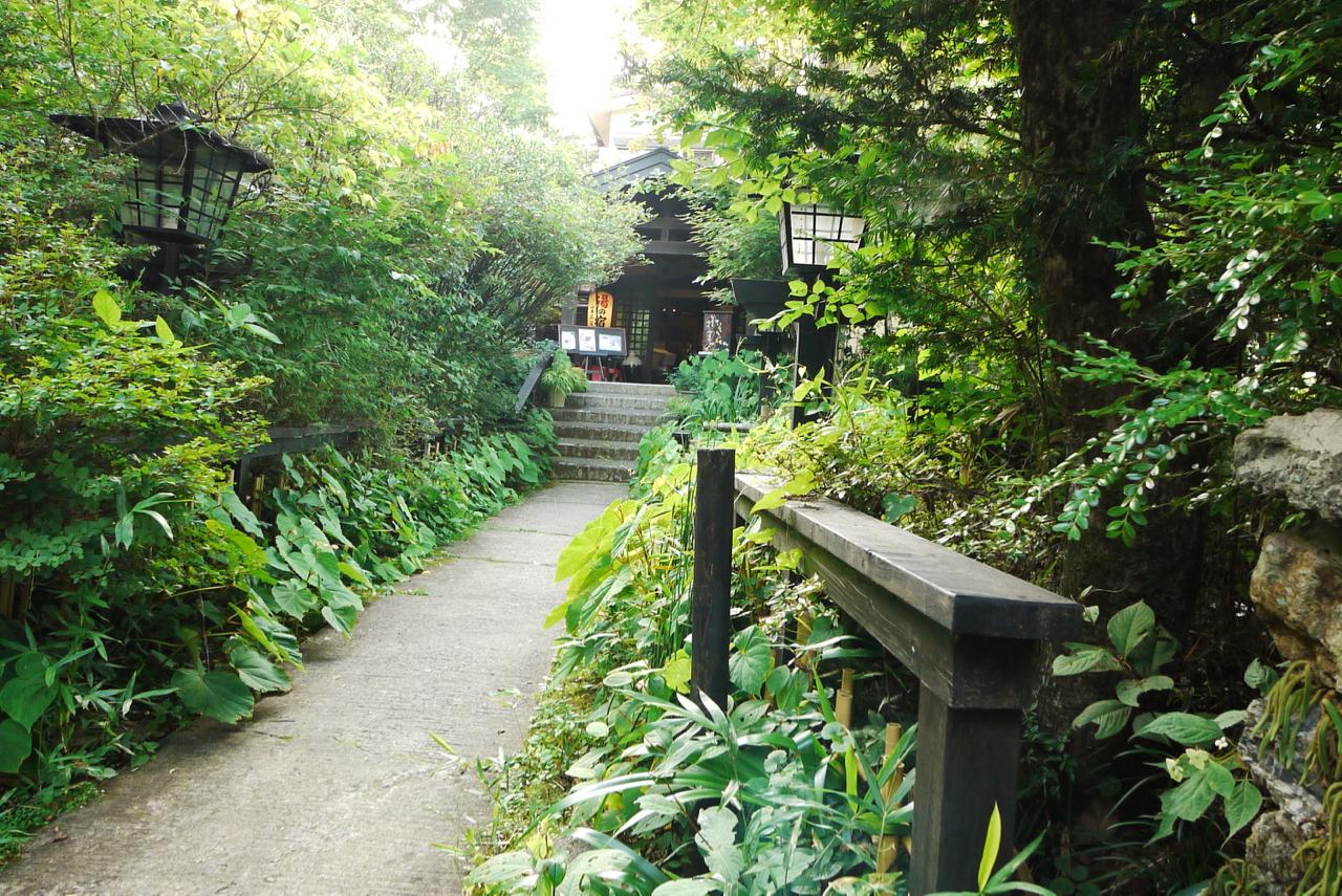 御岳山の旅館「山香荘」
