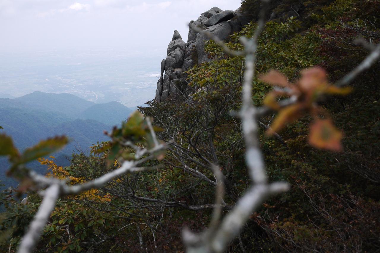 御在所岳・裏登山道