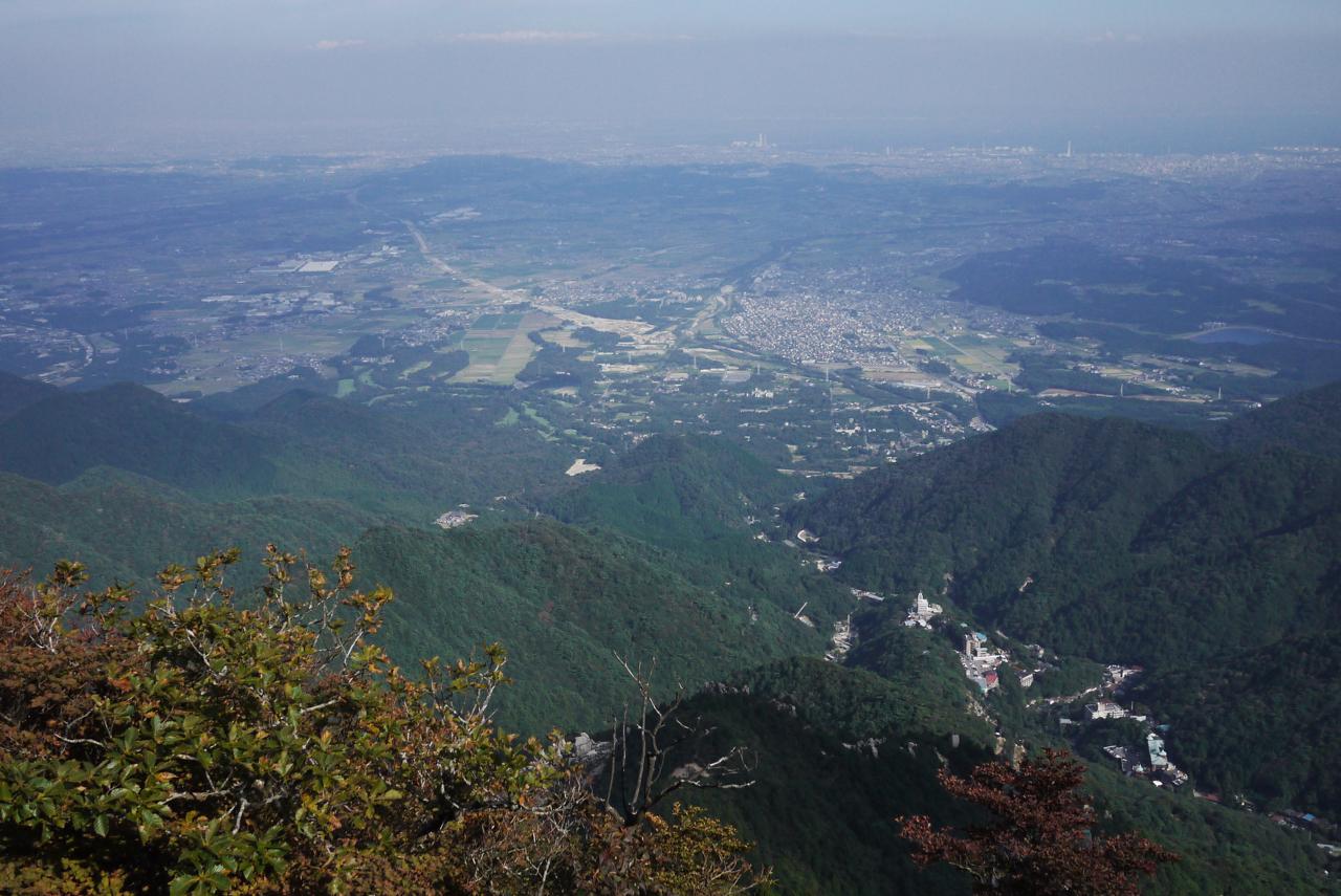 御在所岳・朝陽台からの眺め