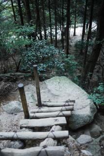 御在所岳・中道登山道