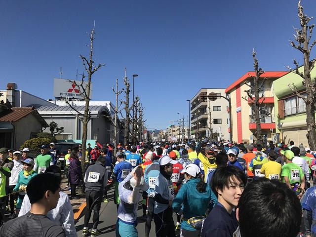青梅マラソン2017