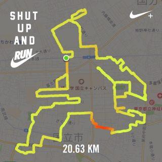 サムライマラソンのGPSランニングアート