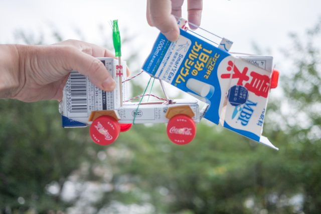 牛乳パック工作のアイデア