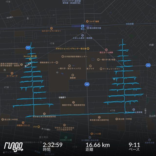 RunGoのランニングアート