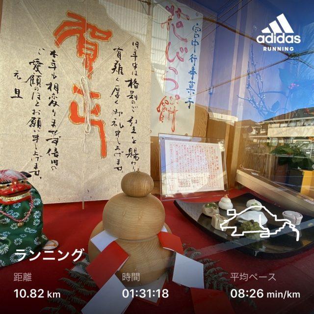 adidas Runningのランニングアート