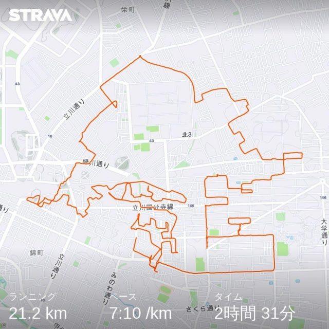 GPSアートで勝手にオリンピック