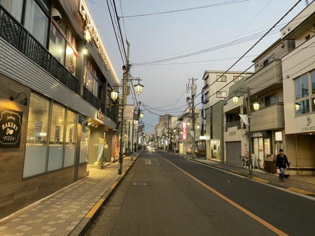 国立市・富士見通り