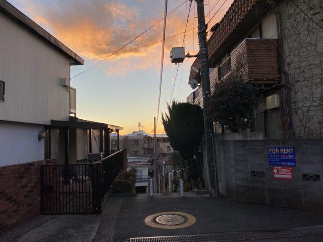 国分寺市光町の富士山