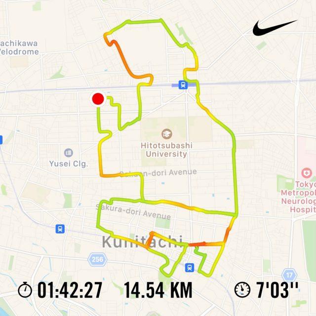 Nike Run Clubのランニングアート