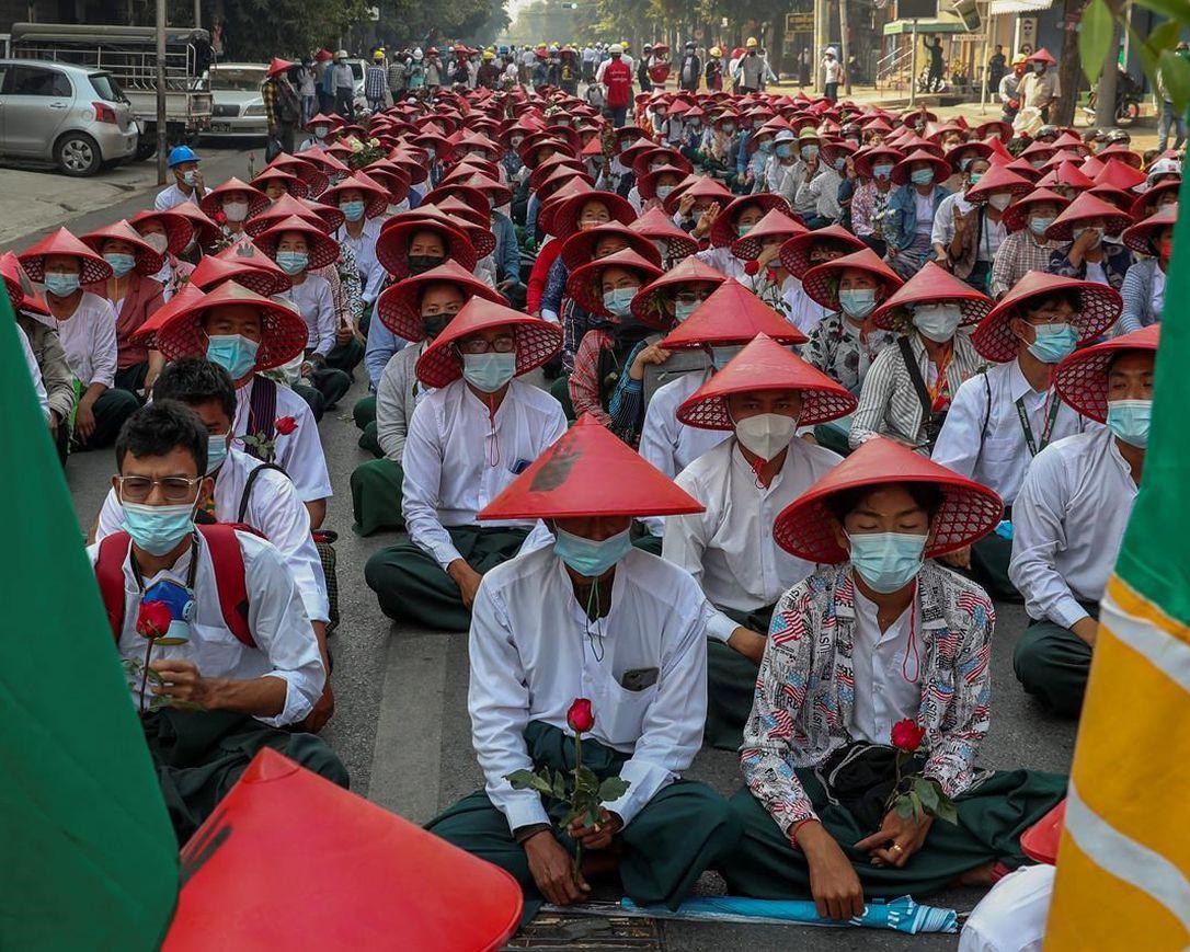 ミャンマーの教職員