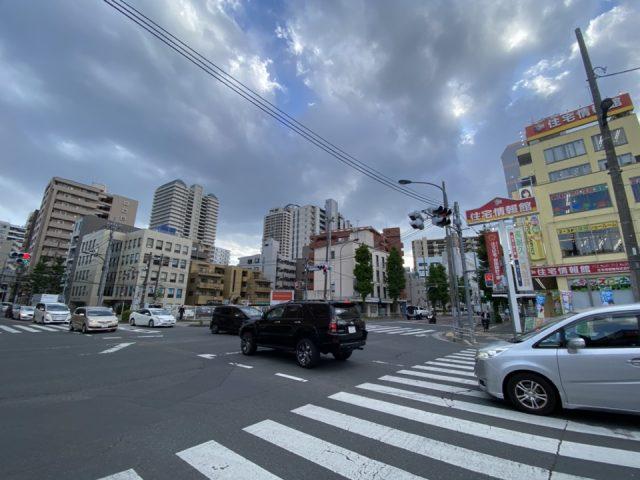 小金井街道入口交差点