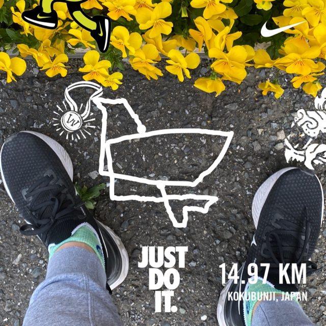 Nike Run Clubのお絵かきラン