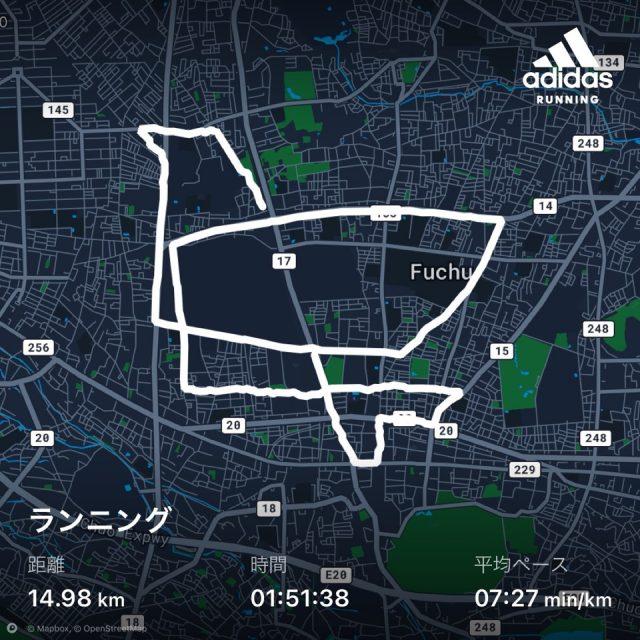 adidas Running のお絵かきラン