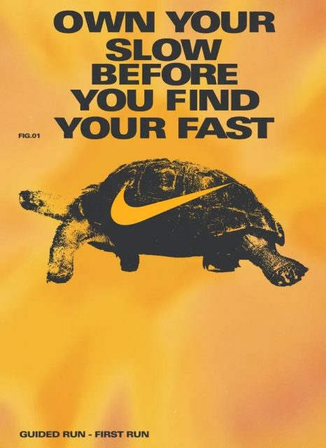 Own your slow before you find your fast