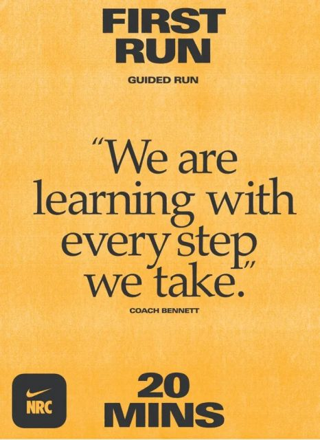 """""""We are Learning with every step"""" we take."""