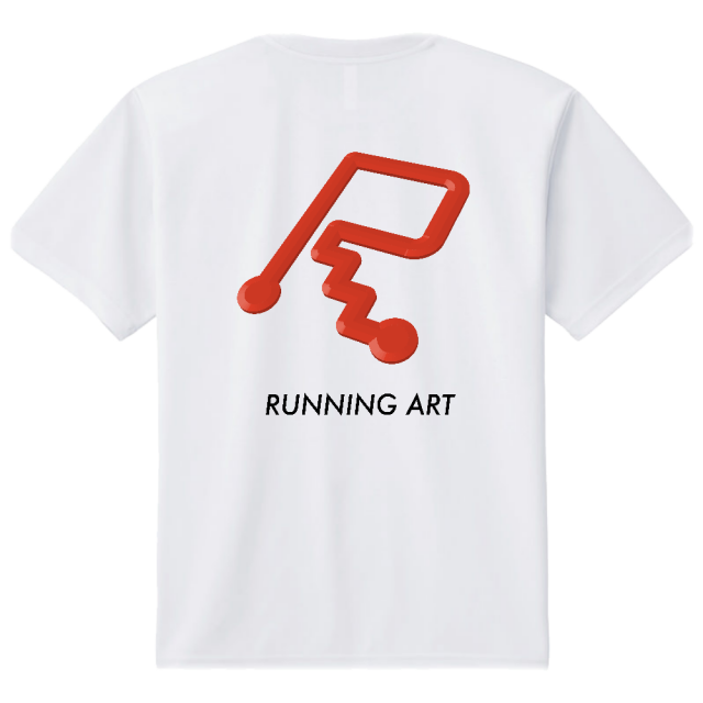 RUNNING ART Tシャツ