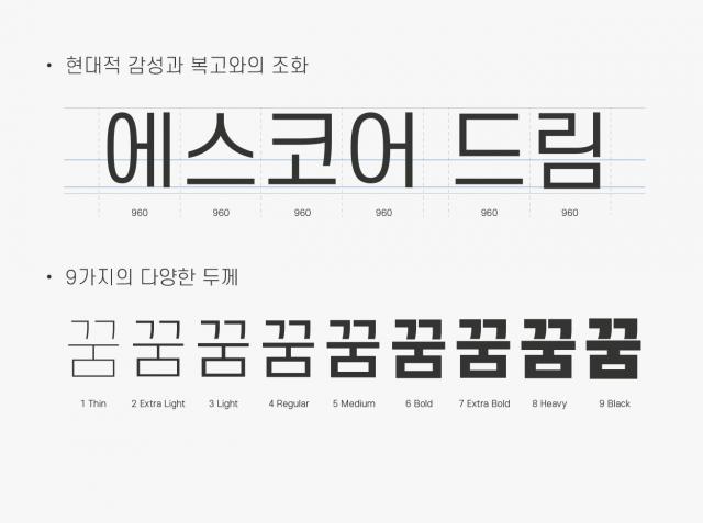 S-core Dream font