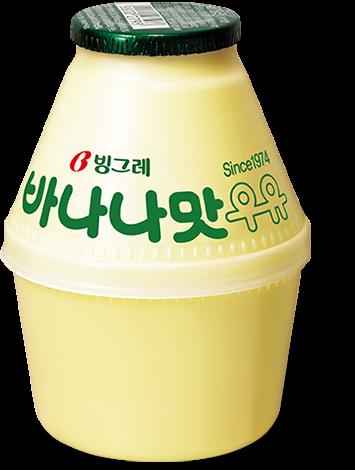 ピングレ・バナナ牛乳